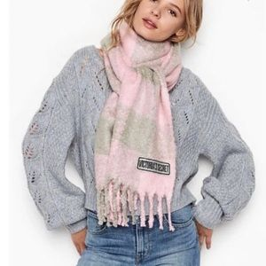 Victoria's Secret Winter Angel Collection Scarf